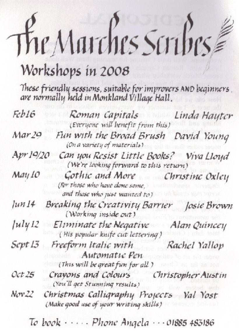 workshops2008