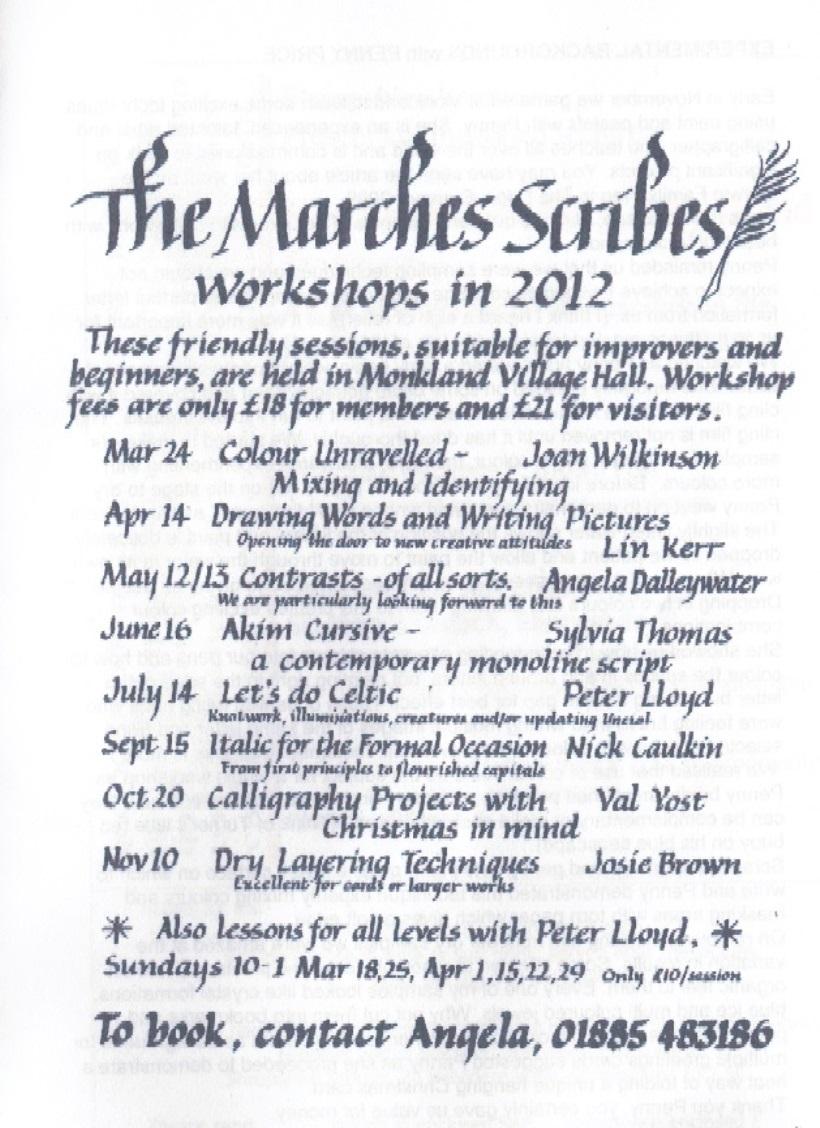 workshops2012